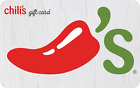 Chili's Pre-Owned Gift Card $25 - 15% OFF - US Mail Delivery - Paper or Plastic