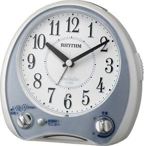 Rhythm Clock Alarm Clock Analog Melody Aria Cantabile 38 Frequency High Quality