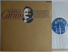 "The Golden Voice Of Enrico Caruso (7418) 12"" LP 1973 Saga XID 5251"