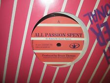 """D.Roberts/M.Best/S.Paynes""""All Passion Spent/Dial First...P.O.A""""12""""SEALED 45"""