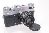 Vintage Zopku Zorki 5 Rangefinder 35mm Film Camera Russian with f2.8 55mm Lens