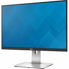 """Lot Of 2 Dell UltraSharp 24"""" LED IPS Monitor U2415 HDMI, DisplayPort Inputs"""