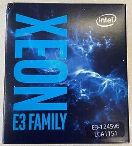 Intel BX80677E31245V6 SR32B Xeon Processor E3-1245 v6 8M Cache, 3.70 GHz NEW