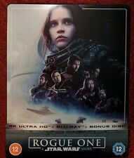 Steelbook Rogue One Star Wars - Blu-ray 4K + 2D + bonus