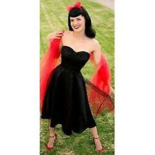 NWT Stop Staring Black Rockabilly 50's style SWEET SURPRISE dress XL