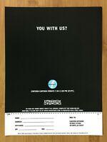 1999 Cartoon Network Cartoon Cartoon Fridays! Print Ad/Poster Promo Art RARE!