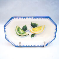 "Williams Sonoma SARDINIA ""Lemon & Lime"" Individual Dip Bowl READ"
