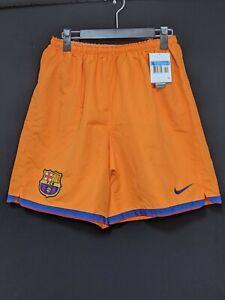 2006-07 Barcelona Away Football Shorts Soccer Size:M *NWT* Nike