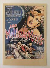 carte postale cinéma les mille et une nuits Arabian Nights Jon Hall Zreik 100