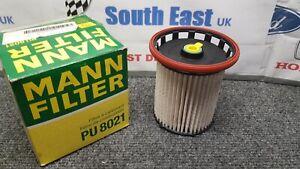 Fuel Filter PU 8021 MANN+HUMMEL for Audi Seat Skoda VW