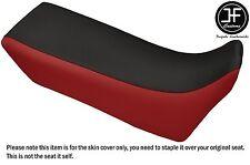DSG2 D RED BLACK VINYL CUSTOM FOR YAMAHA XTZ 750 SUPER TENERE 89-96 SEAT COVER