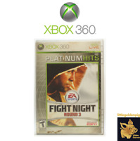 Fight Night Round 3 (2005) Xbox 360 Video Game Disc Tested Works C+ EA Sports