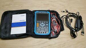 Siglent SHS806 Handheld Digital Oscilloscope 60MHz 1GSa/s w/ Multimeter Function