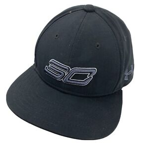 Steph Curry Under Armour Youth Black Ball Cap Hat Snapback Baseball