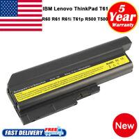 """Battery for IBM Lenovo ThinkPad T61 T61p T60 R61 R61i R60 T500 R500 15.0"""" 15.4"""""""