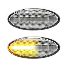 WEISSE dynamische LED Seitenblinker Opel Vectra B Caravan Irmscher i500 Vauxhall