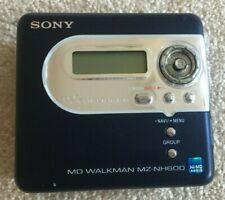 Sony MD Walkman MZ-NH600 (Walkman only)