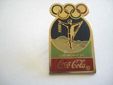 PINS VINTAGE SPORT JEUX OLYMPIQUES CHAMONIX COCA COLA OLYMPIC GAMES wxc 30