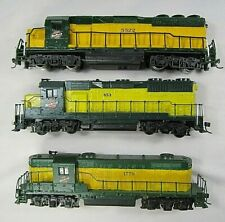 HO Scale  3 Chicago & North Western DUMMY locomotives, Bachmann, Athearn