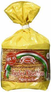 Original Ziegler Käsetaler Waffeln mit Käse knusprig gebacken 150g