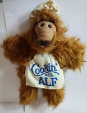 "Vintage 1988 Burger King Cooking/Cookin' with Alf Chef Hand Puppet 12"" Plush Toy"