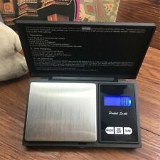 500g Precision Digital Scales For Gold Jewelry 0.1 Weight Electronic Scale New