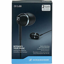 Sennheiser CX 1.00 In-ear Canal Headphones White 100 Genuine
