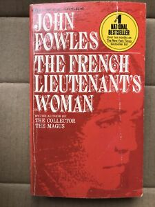 the French Lieutenant's Woman By John fowles 1970 1st paperback fiction novel