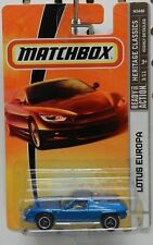 3 LOTUS EUROPA SPORTS CAR HERITAGE BLUE MB MBX MATCHBOX