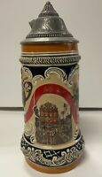 Holidays Decade of the 40s Stein The Saturday Evening Post Cover Budweiser GM23