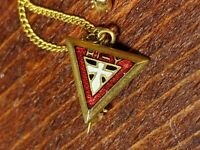 Vintage Collectible YMCA Pin: Letter W AND I HI-Y Triangle