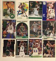BOSTON CELTICS 100 Different Card Team Lot BIRD GARNETT PIERCE + 1989-2015