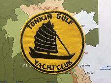 Patch  , Tonkin Gulf Yacht Club Patch ,  YELLOW