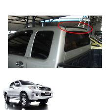Rear Roof Spoiler Trim V2 Black For Toyota Hilux Vigo Champ Pickup 2011 - 2014