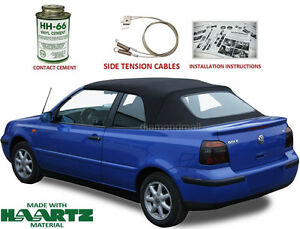 VW Volkswagen Golf Cabrio Cabriolet 1995-2001 Convertible Soft Top Kit NEW!