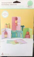 Martha Stewart Honeycomb Birthday Card Kit