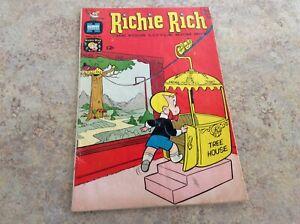 RICHIE RICH THE POOR LITTLE RICH BOY #45 COMIC 1966 HARVEY