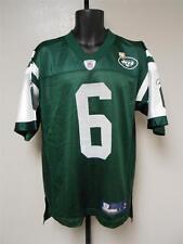 NEW-Minor-Flaw Mark Sanchzez #6 New York Jets Mens M-L-XL Reebok Jersey