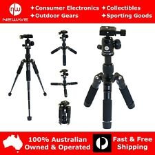 NEWAVE 20'' Compact Professional Heavy Duty Tripod Stand 4 DSLR Camera Camcorder