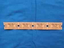 Vintage Airway Drive-In Theatre Child Tickets (Strip of 4) Movie/Cinema - MO
