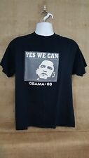 Obama 2008 Yes We Can Tshirt Adult Large