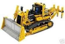 LEGO Technic 8275 - RC Bulldozer mit Motor / Motorized Bulldozer, ohne BA/Manual