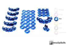 Dress Up Bolts for 01-05 Lexus IS300 IS Blue Ti Titanium Engine Bay Kit