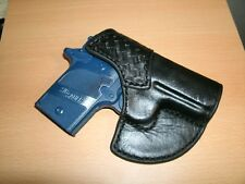 Leather Pocket/Purse HOLSTER for Sig P938/P238 Brown Basket Stamped Made in USA