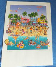 "Susannah MacDonald Bild ""Fun in The Sun"" 1998 AP Limited Edition Lithographie"