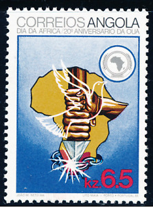 Angola - 1983 - Africa Day/ Organization of African Unity
