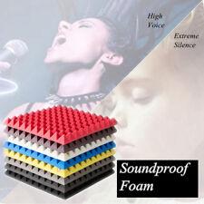 Espuma Acústica Absorbedor Cuña Insonorización Aislamiento Pirámide 500x500x55mm