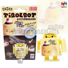 TIROLBOT Vanilla Pudding Choco Robot with Strap Key Chain 2009 MEGAHOUSE JAPAN