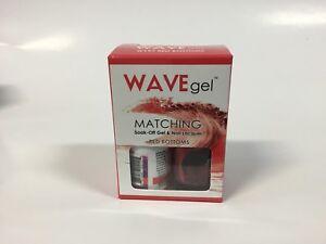Wave Gel matching Soak Off gel polish Pick Your Color 0.5 oz / 15mlLED/UV List C