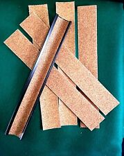 1 TWEETEN 9 INCH METAL POOL CUE TIP TRIMMER / SCUFFER / SHAPER w/ 6 Sandpapers